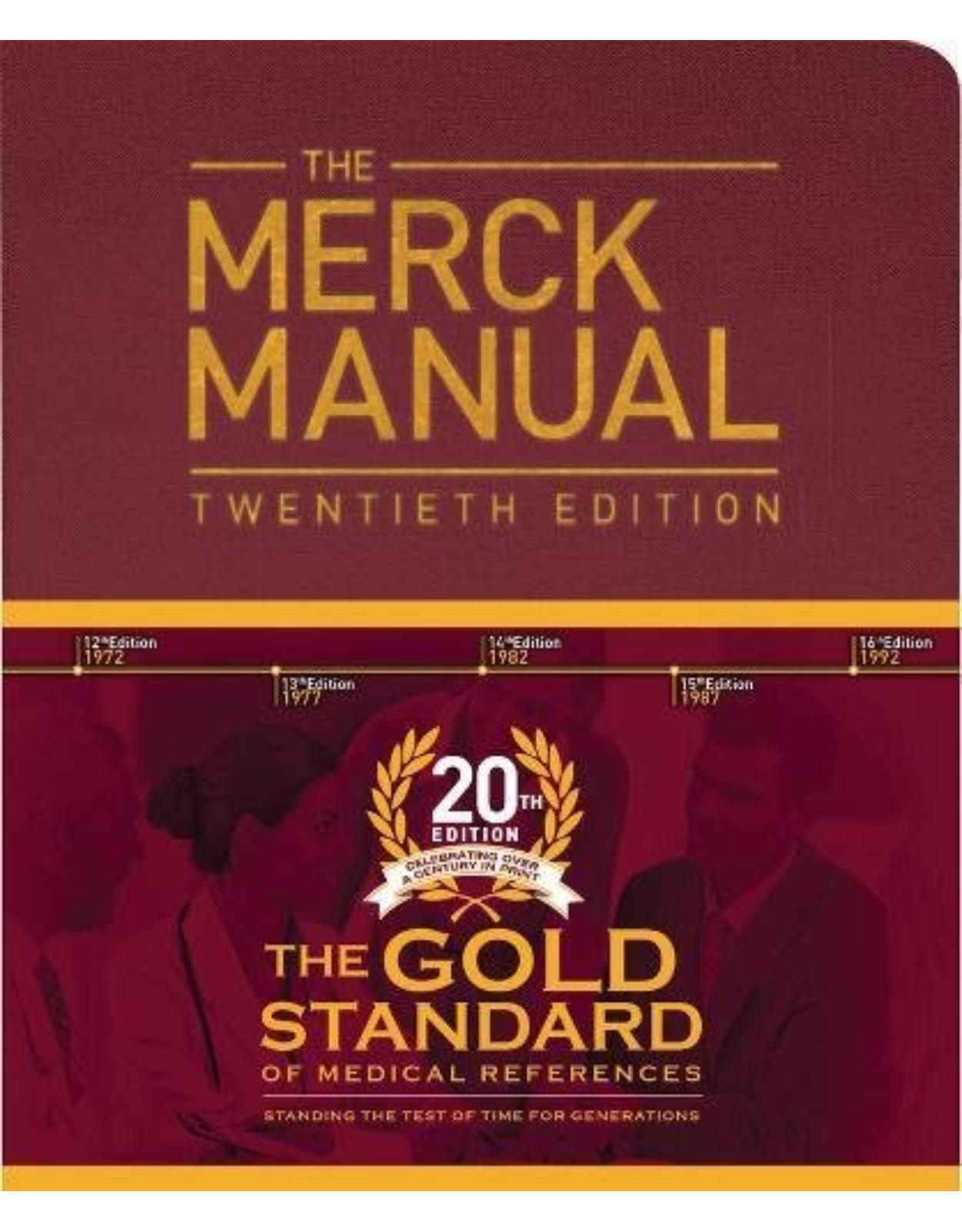 The Merck Manual of Diagnosis and Therapy, 20th Edition