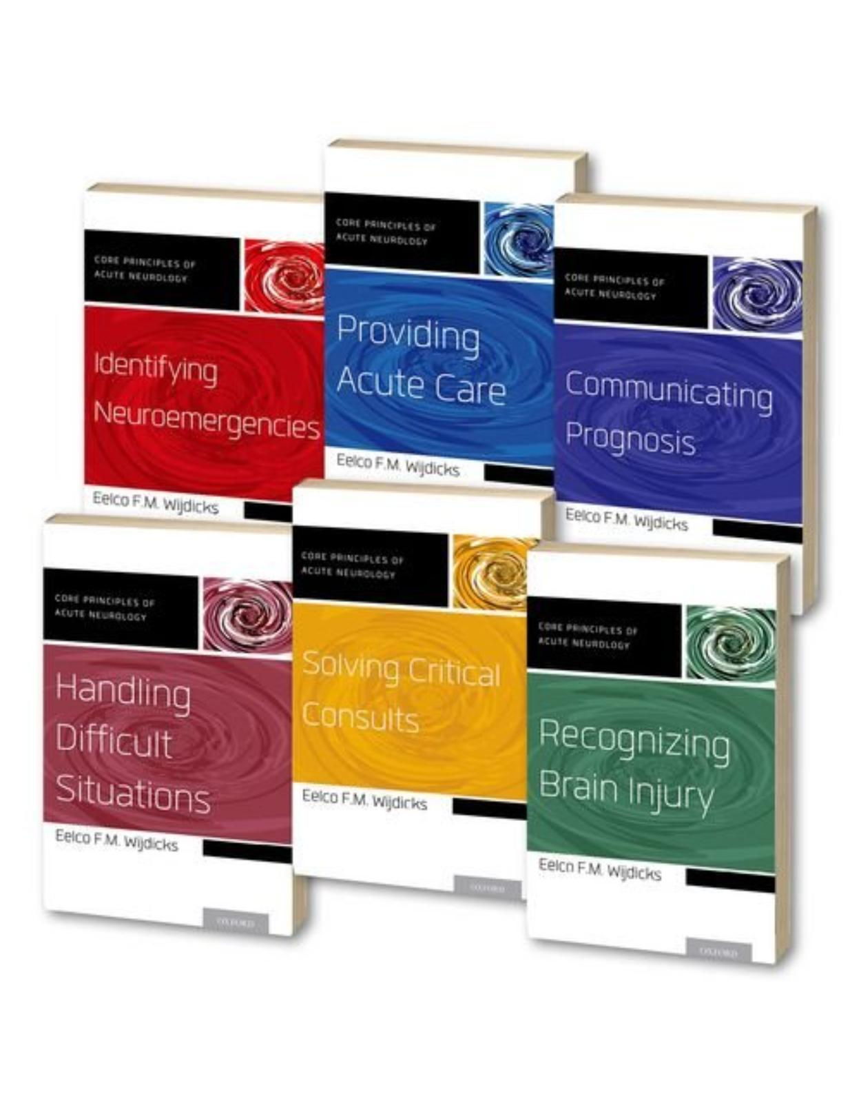 Core Principles of Acute Neurology 6-Volume SET