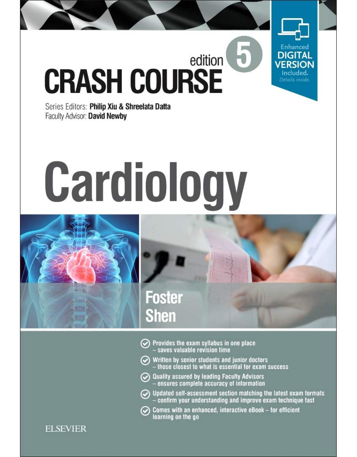 Crash Course Cardiology, 5e