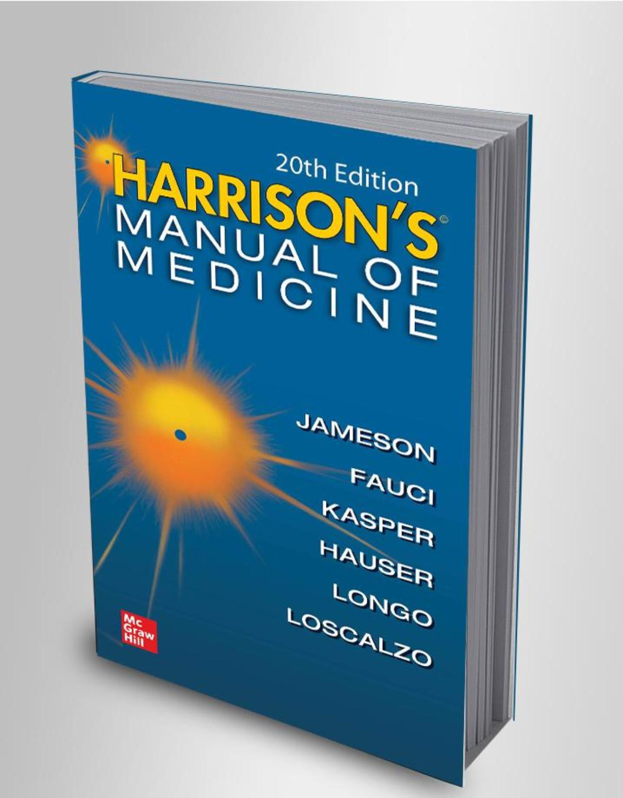 Harrisons Manual of Medicine, 20th Edition