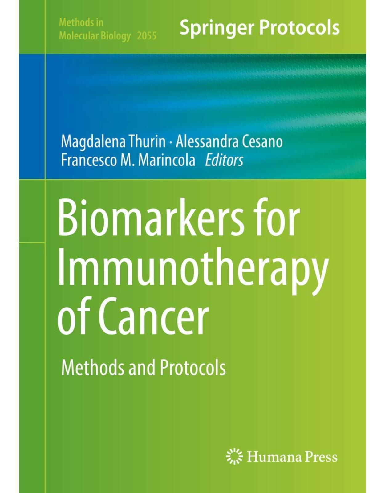 Biomarkers for Immunotherapy of Cancer