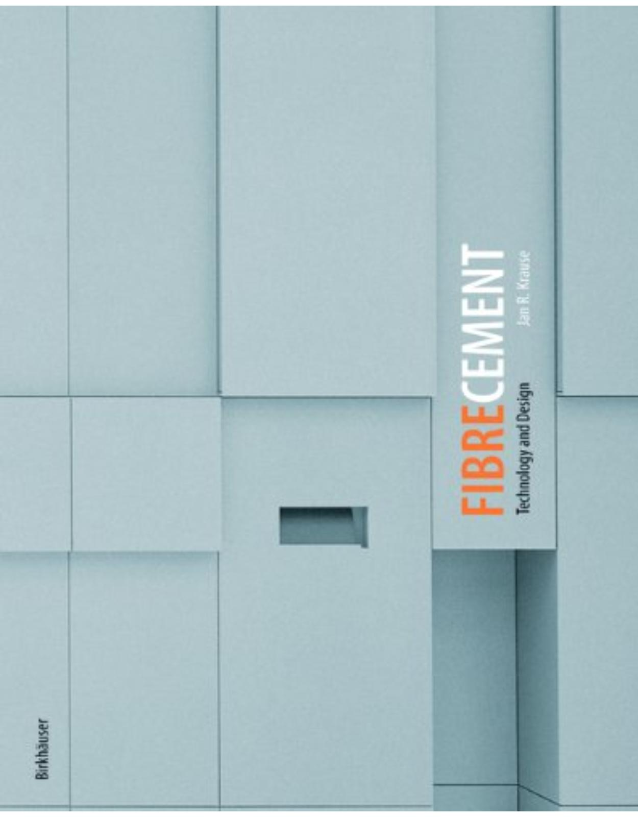 Fibre Cement: Technology and Design