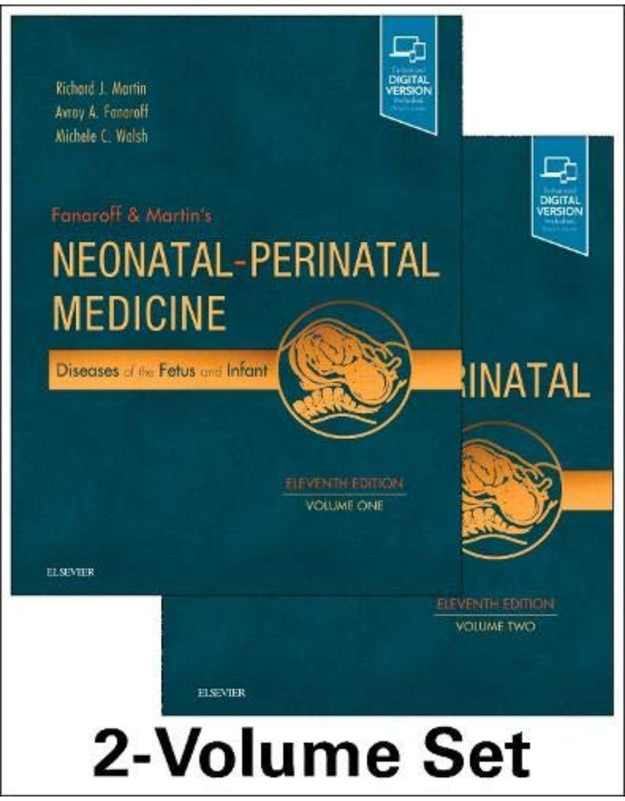 Fanaroff and Martin s Neonatal-Perinatal Medicine, 2-Volume Set, 11th Edition