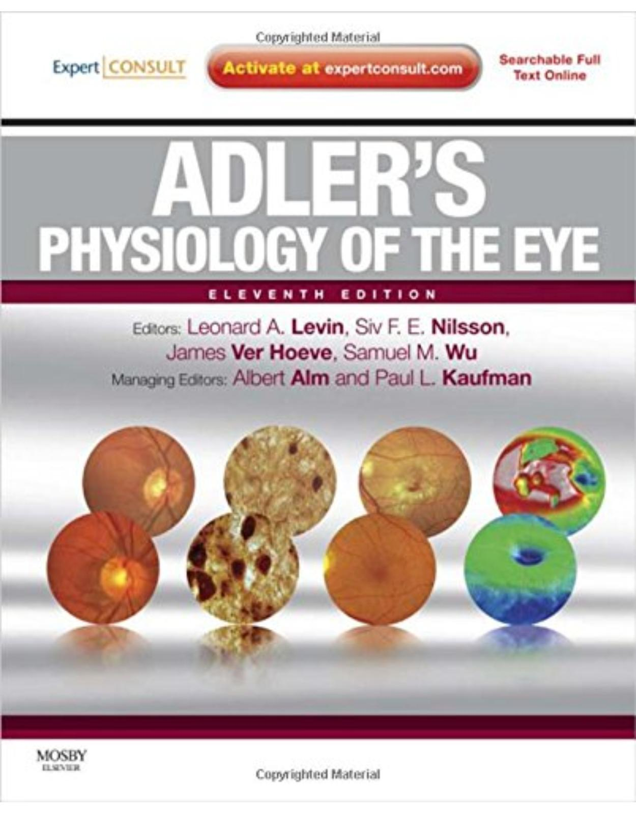 Adler's Physiology of the Eye: Expert Consult - Online and Print 11e