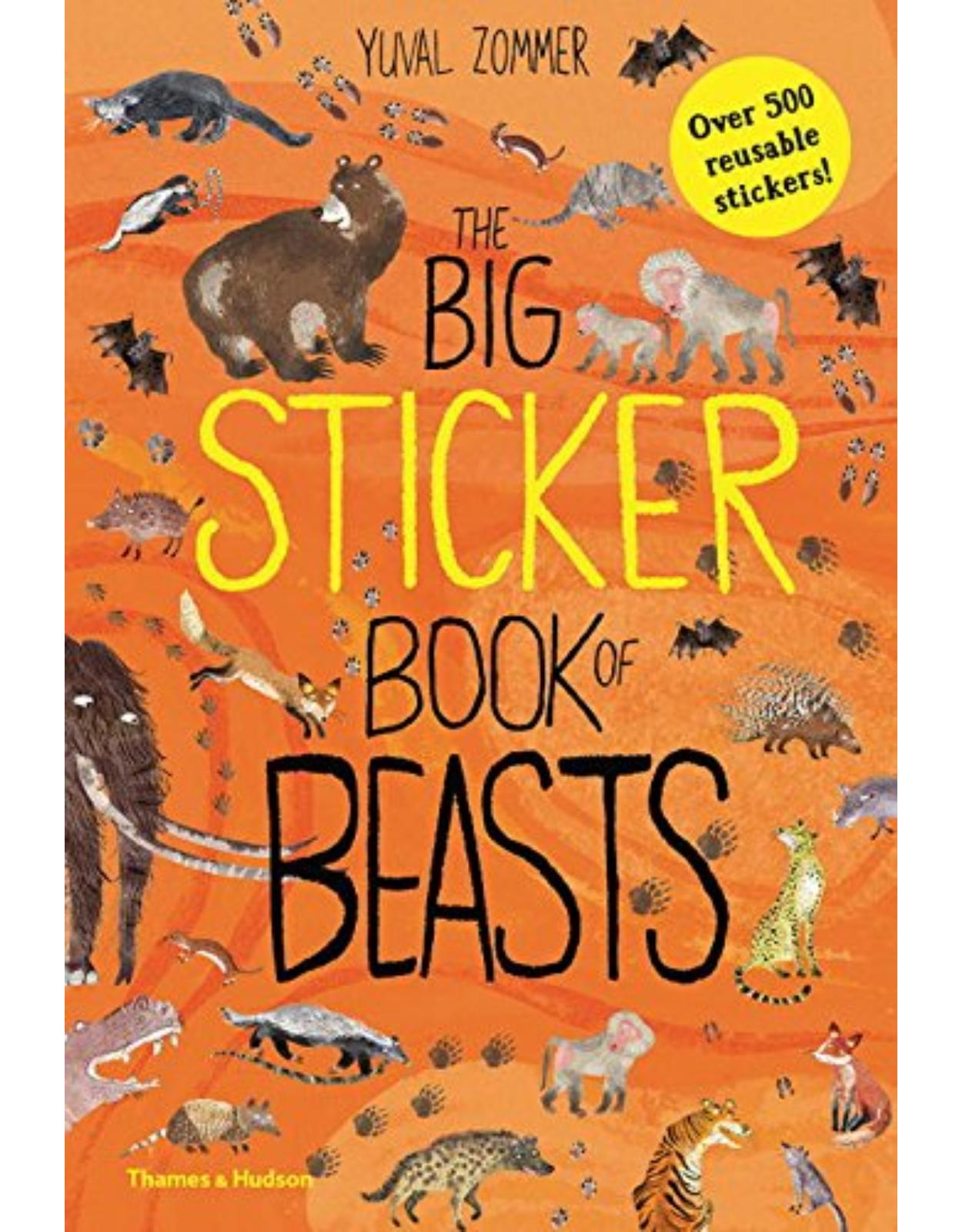 The Big Sticker Book of Beasts (Sticker Books)