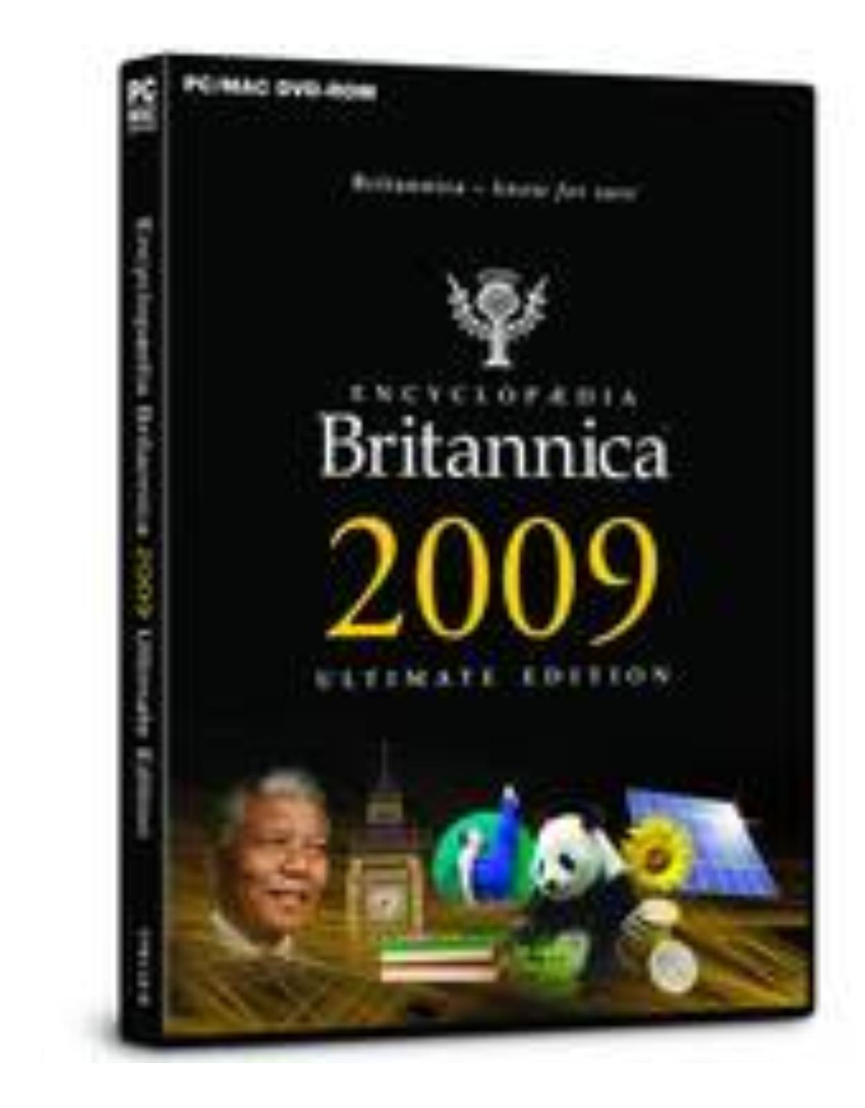 Encyclopaedia Britannica 2009 Ultimate Reference DVD