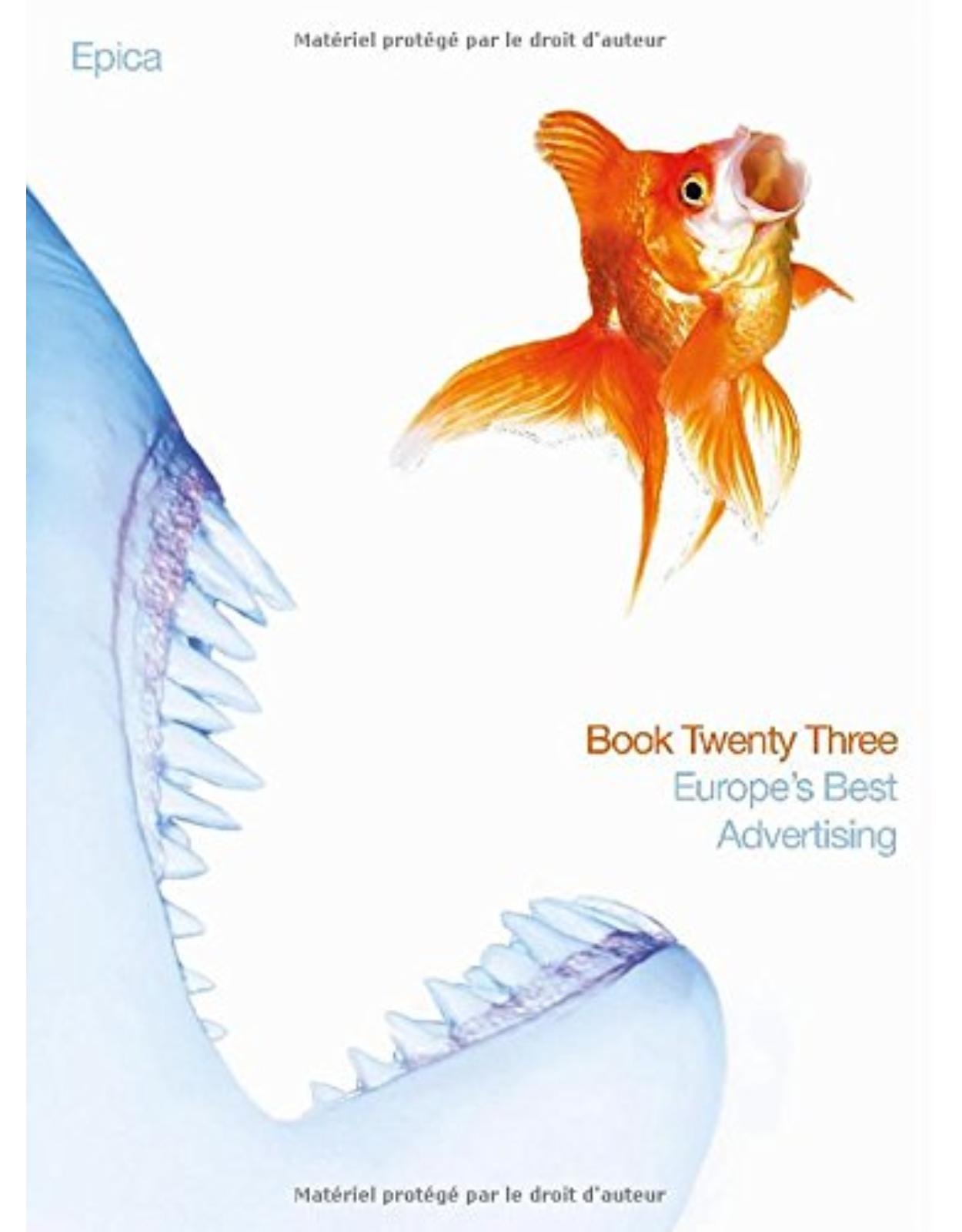 Epica Book 23: Europe's Best Advertising, BK. 23
