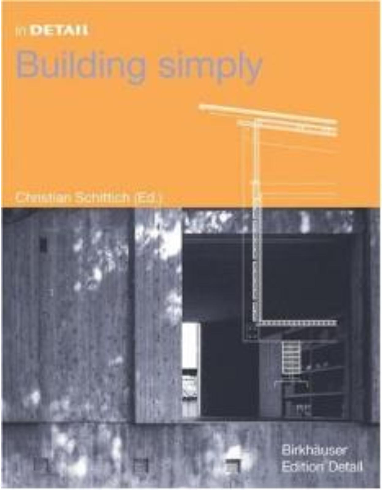 In Detail: Building Simply