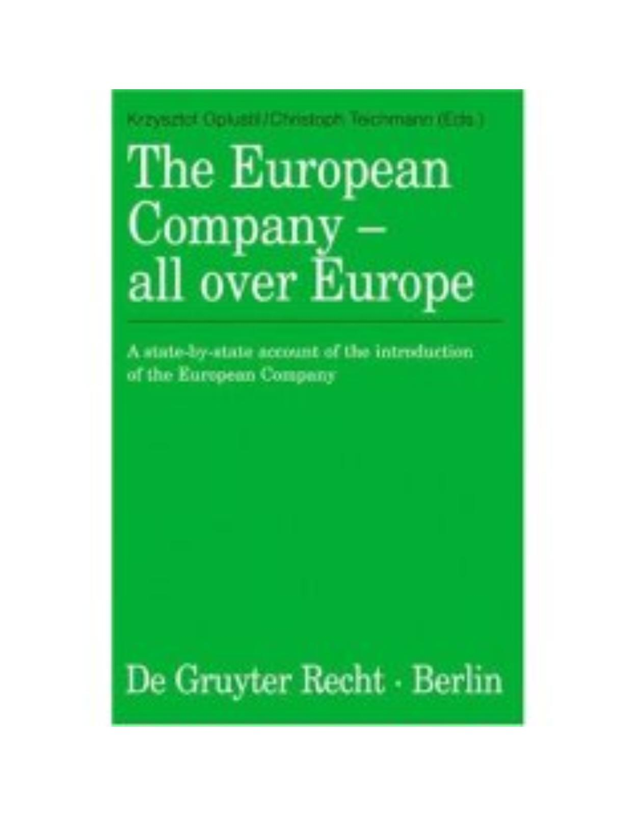 The European Company – all over Europe