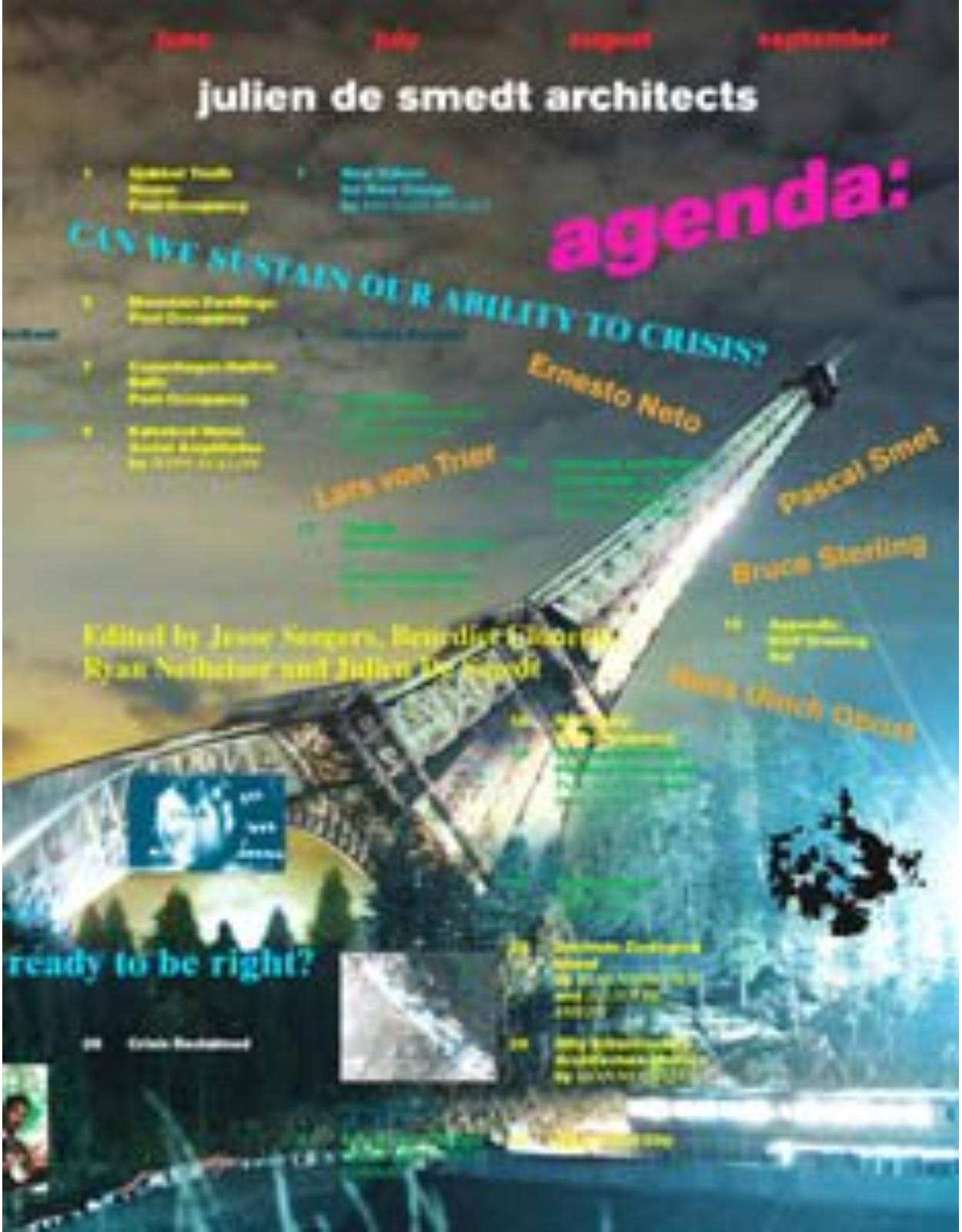 Agenda. JDS Architects. Can We Sustain Our Ability to Crisis?