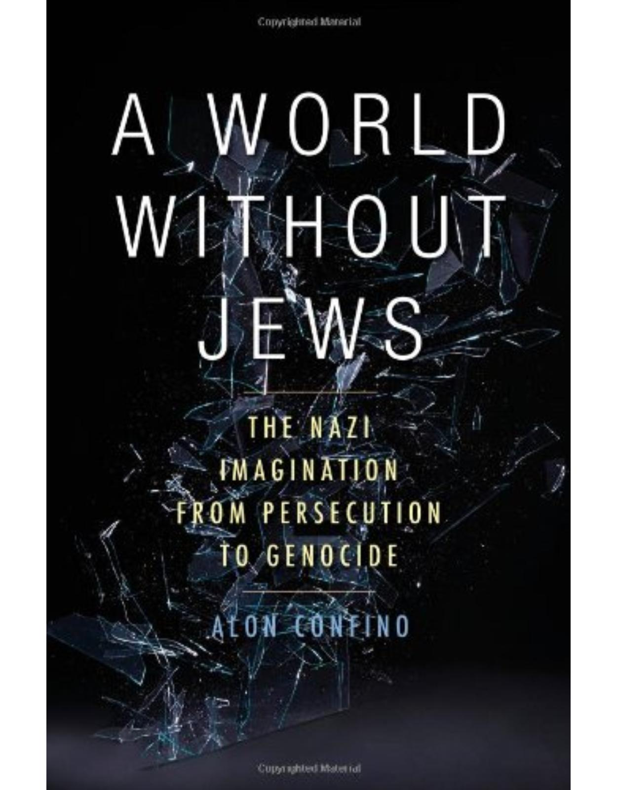 World Without Jews. Nazi Germany, Representations of the Past, and the Holocaust, 1933-1945
