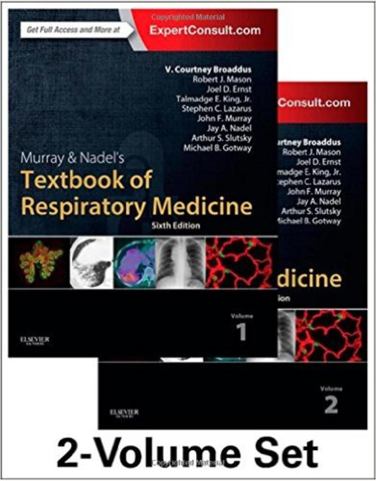 Murray & Nadel's Textbook of Respiratory Medicine, 2-Volume Set, 6e