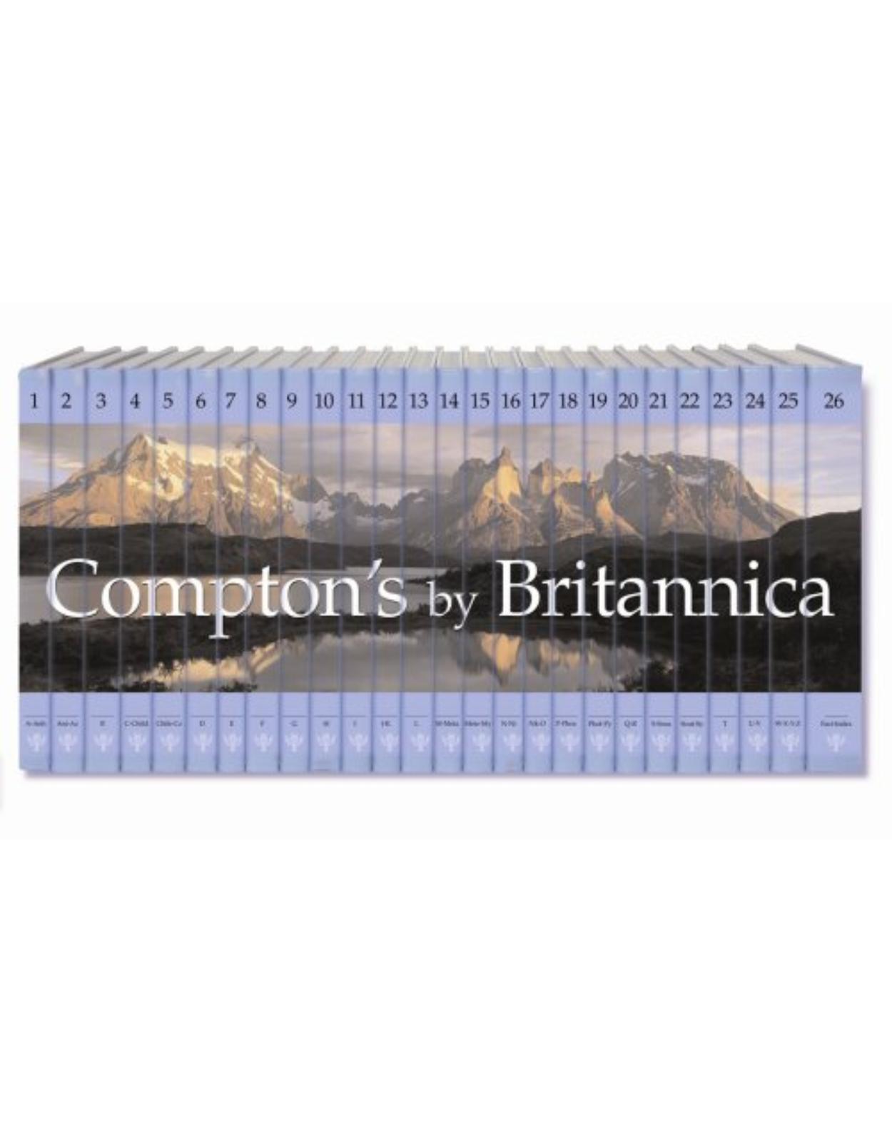 Compton's By Britannica 26 vol/set