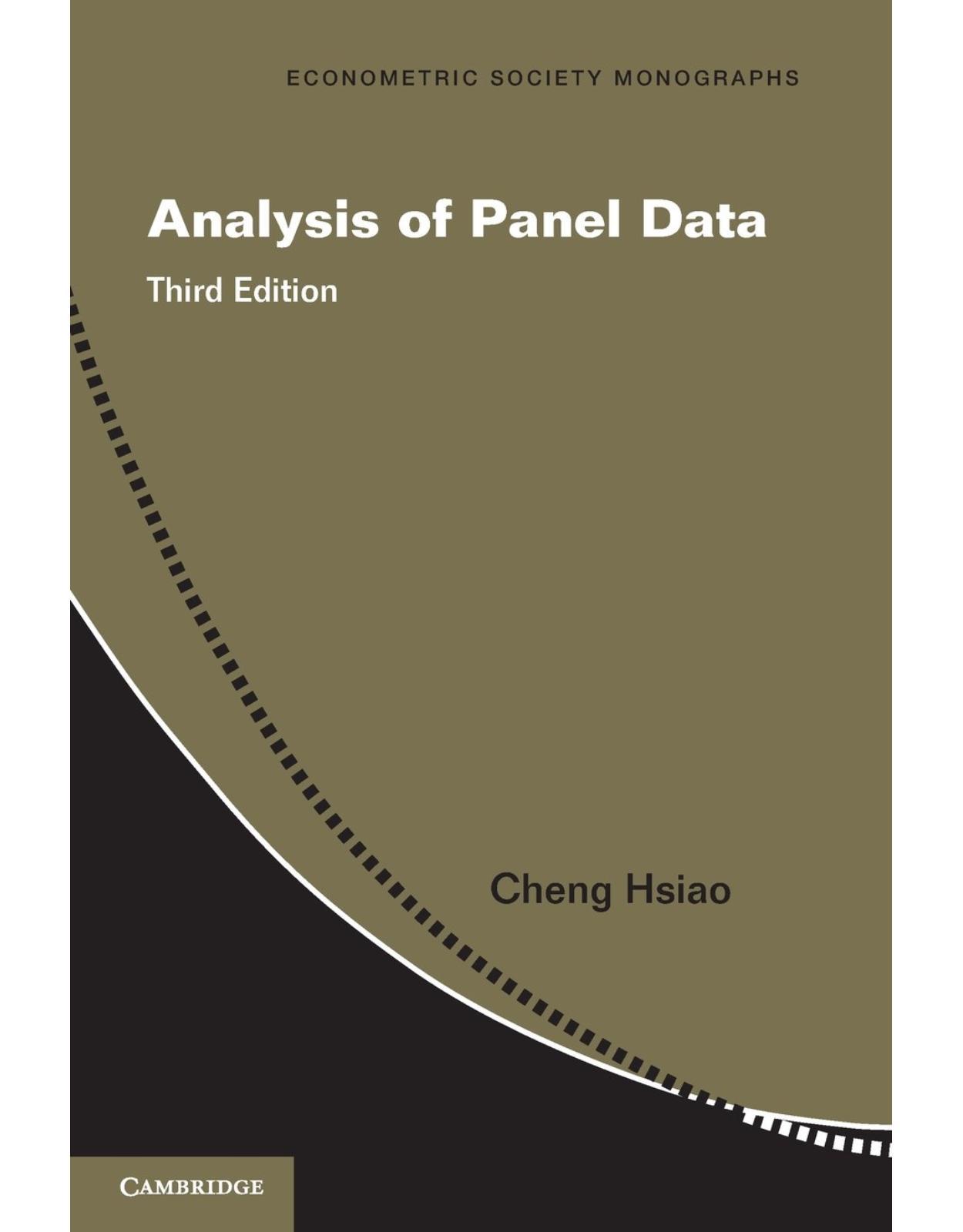 Analysis of Panel Data (Econometric Society Monographs)