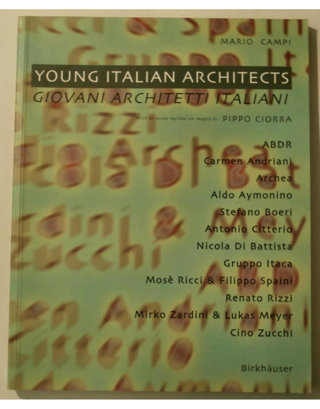 Young Italian Architects (Paperback)