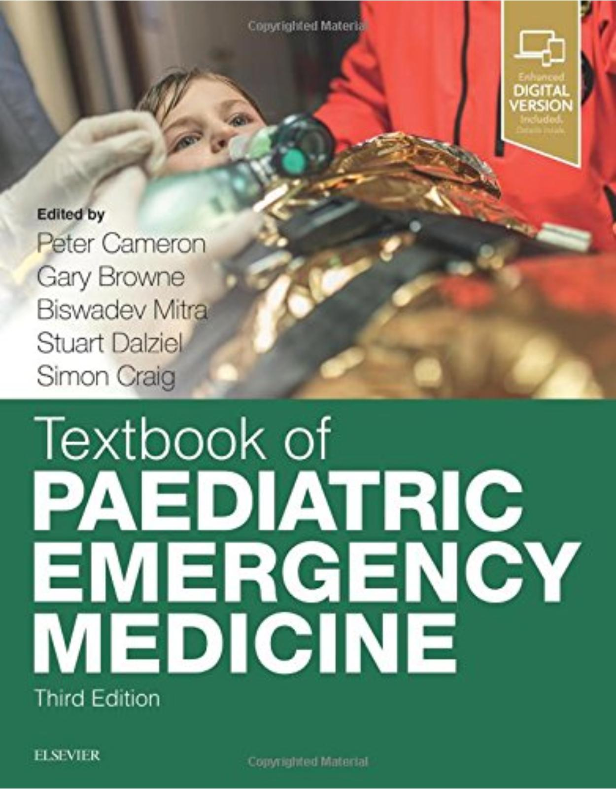Textbook of Paediatric Emergency Medicine, 3e