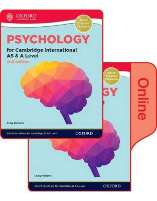 Libraria online eBookshop - Psychology for Cambridge International AS and A Level (9990 syllabus): Print and Online Student Book Pack -  Craig Roberts - OUP Oxford