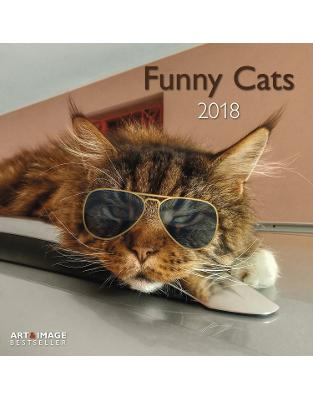 Libraria online eBookshop - Calendar Funny Cats 2018 -  - TeNeues