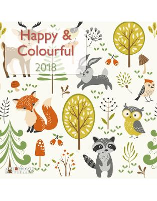 Libraria online eBookshop - Calendar Happy & Colourful 2018 -  - TeNeues