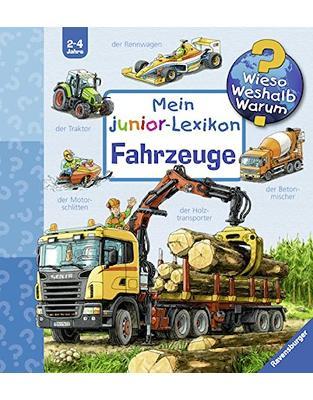 Libraria online eBookshop - Mein junior-Lexikon: Fahrzeuge (Wieso? Weshalb? Warum? Sonderband)  -  Peter Nieländer  - Ravensburger