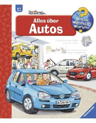 Libraria online eBookshop - Alles über Autos -  Andrea Erne , Wolfgang Metzger - Ravensburger